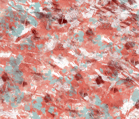 Red and blue grunge fabric by suziedesign on Spoonflower - custom fabric