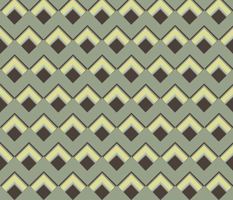 diamonds squared fabric by luluhoo on Spoonflower - custom fabric