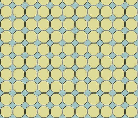 octagon fabric by luluhoo on Spoonflower - custom fabric