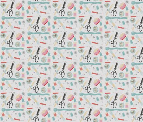 Sewing Pattern fabric by icarpediem on Spoonflower - custom fabric