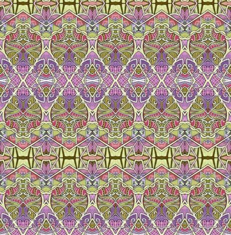 Art Deco a Go Go Zig Zag stripes fabric by edsel2084 on Spoonflower - custom fabric