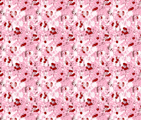 Sweets and Treats- Cherry Splat fabric by mystikel on Spoonflower - custom fabric