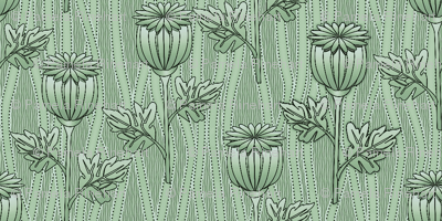 poppies mint