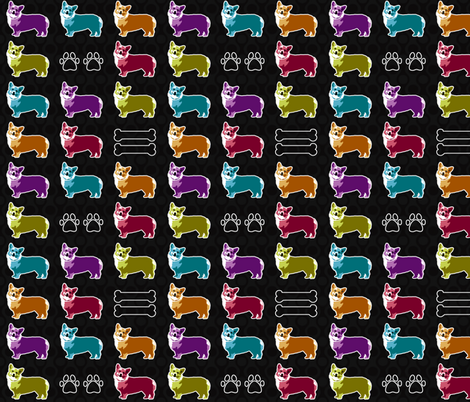 Everyone loves a corgi fabric by dianef on Spoonflower - custom fabric