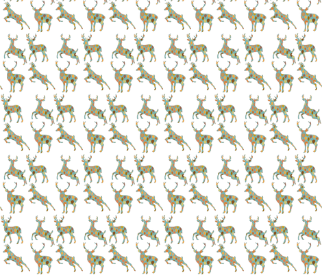 Autumn Deer  fabric by icarpediem on Spoonflower - custom fabric