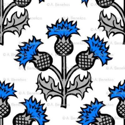 Heraldic Blossom Thistle