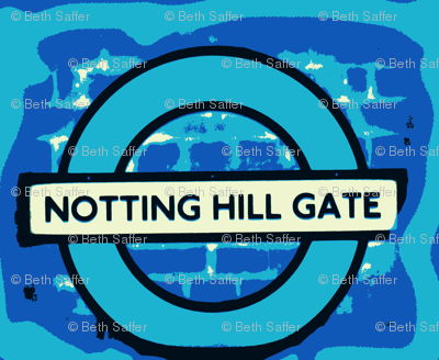 Notting Hill - blue