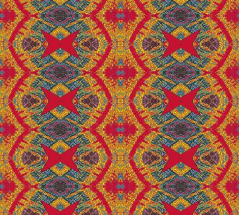 Guatemalan Sunshine 2 fabric by susaninparis on Spoonflower - custom fabric