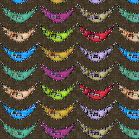 ruffled feathers fabric by glimmericks on Spoonflower - custom fabric