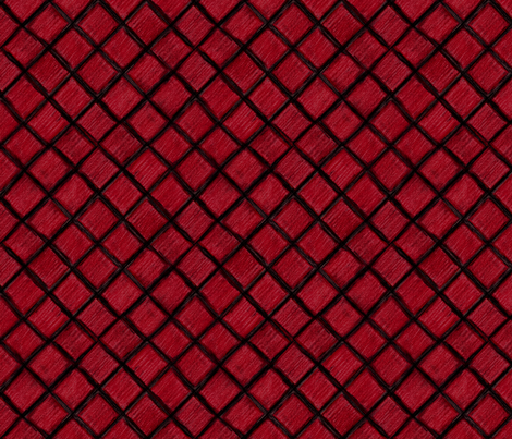 Red Plaid fabric by emily_caraballo on Spoonflower - custom fabric