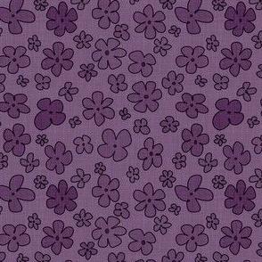 Handdrawn Flowers - Small Phlox