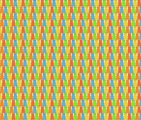 gummi bear fabric by heidikenney on Spoonflower - custom fabric