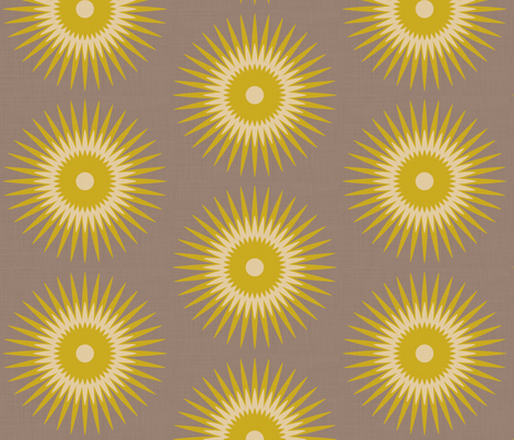 golden fabric by fable_design on Spoonflower - custom fabric