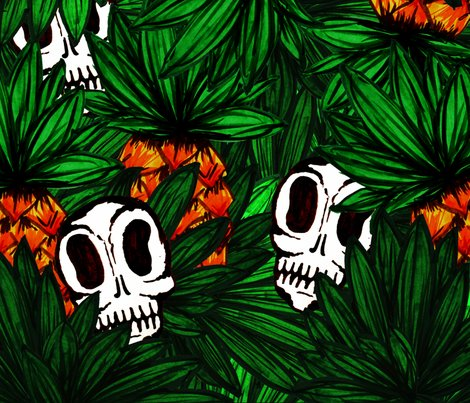 Rjungle_pineapples_and_skulls_copy_shop_preview