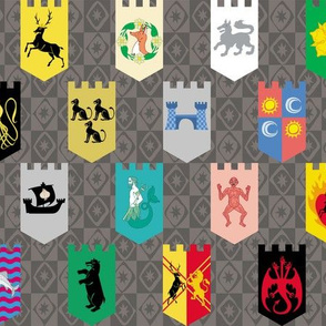 House Sigil Banners