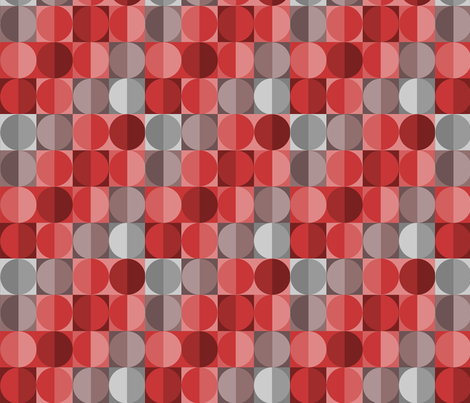 Red Sequins fabric by thirdhalfstudios on Spoonflower - custom fabric