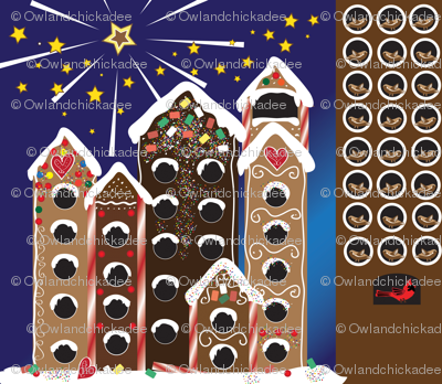 Gingerbird Holiday Calendar - Yard