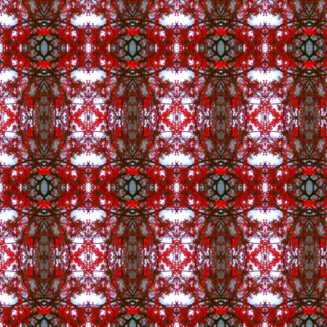 Redder-ed fabric by cristanka on Spoonflower - custom fabric