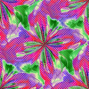 Funky Polka Dots II--8x8