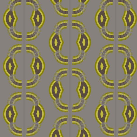 Monkey (Yellow) fabric by david_kent_collections on Spoonflower - custom fabric