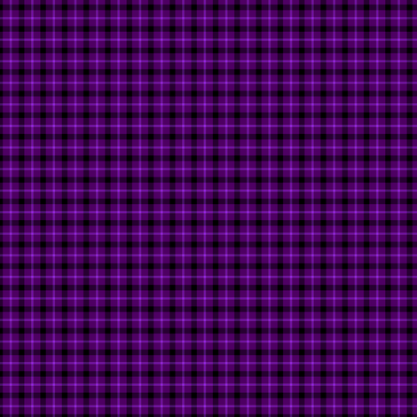 Purple Tartan fabric by tieflingknight on Spoonflower - custom fabric