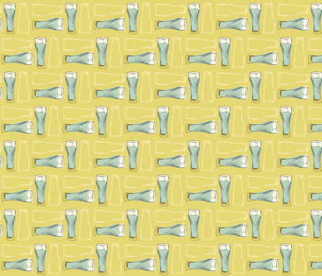 Glass (gold) fabric by phillip_markel on Spoonflower - custom fabric