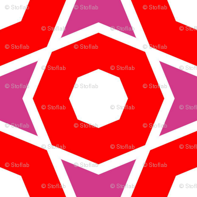 Large Red Octagons