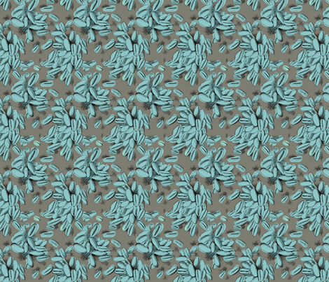 Barley (blue) fabric by phillip_markel on Spoonflower - custom fabric
