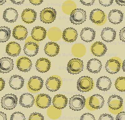 Bottle Caps (gold)