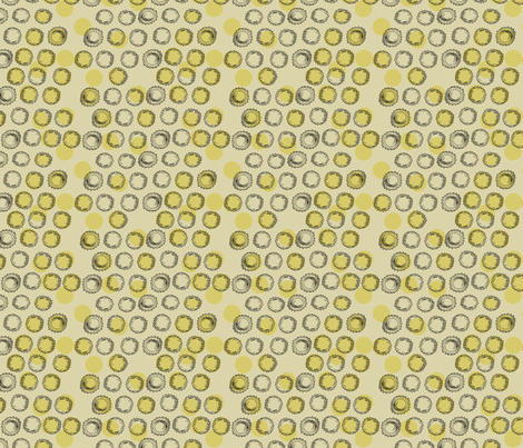 Bottle Caps (gold) fabric by phillip_markel on Spoonflower - custom fabric