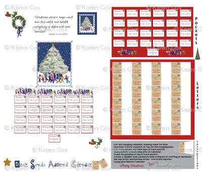 Dear Santa Adent Calendar