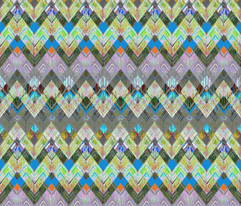 Zig Zag Fresh Camp Blanket fabric by joanmclemore on Spoonflower - custom fabric