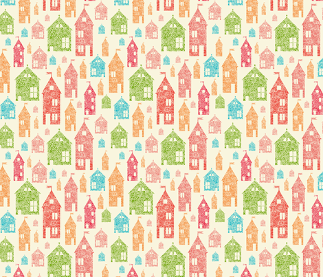 Let's Go Home fabric by oksancia on Spoonflower - custom fabric