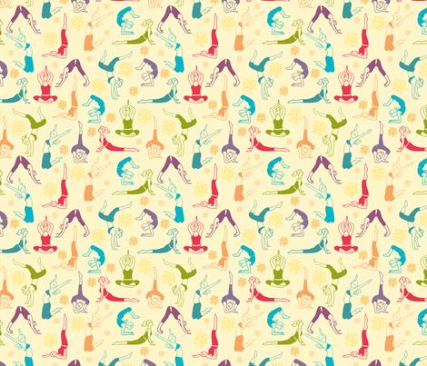 Fun Workout fabric by oksancia on Spoonflower - custom fabric