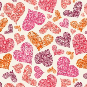 Floral Hearts