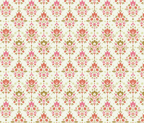 Flower Dance fabric by oksancia on Spoonflower - custom fabric