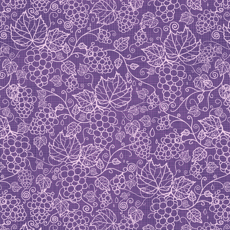 Grape Vines - Fabric Texture