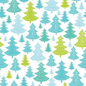 Decorative Christmass Trees