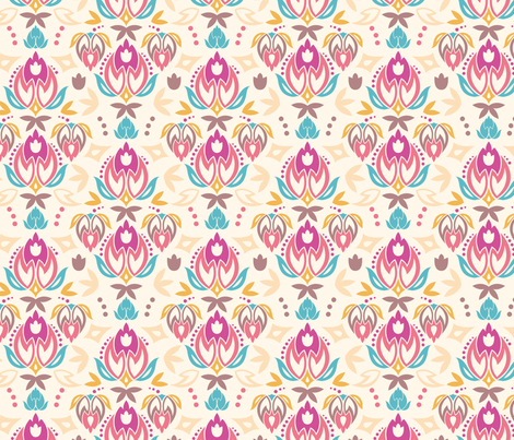 Ornamental Summer fabric by oksancia on Spoonflower - custom fabric
