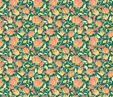 Royal Garden fabric by oksancia on Spoonflower - custom fabric