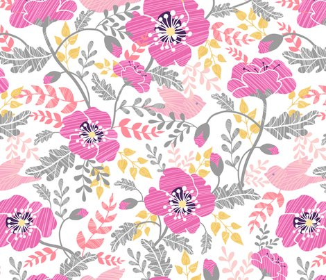 Rrpoppies_textured_seamless_pattern_recolor_sf_pink_gray-02_shop_preview