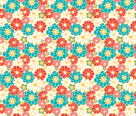 Spring Field fabric by oksancia on Spoonflower - custom fabric