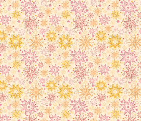 Sunshine fabric by oksancia on Spoonflower - custom fabric