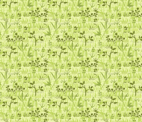 Wild Field fabric by oksancia on Spoonflower - custom fabric