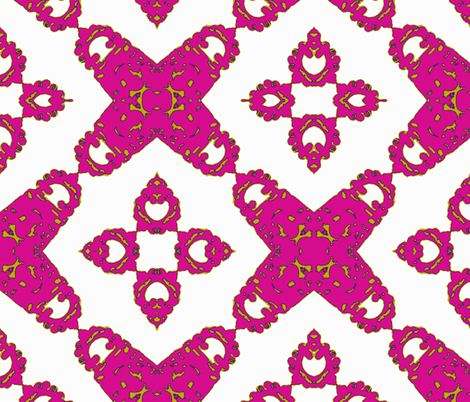 Four Square fabric by susaninparis on Spoonflower - custom fabric
