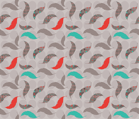 Chicken or the Egg? fabric by dianef on Spoonflower - custom fabric
