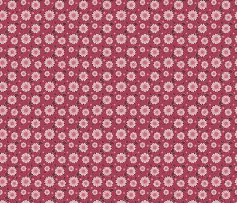 Blooms Sweetly fabric by eppiepeppercorn on Spoonflower - custom fabric