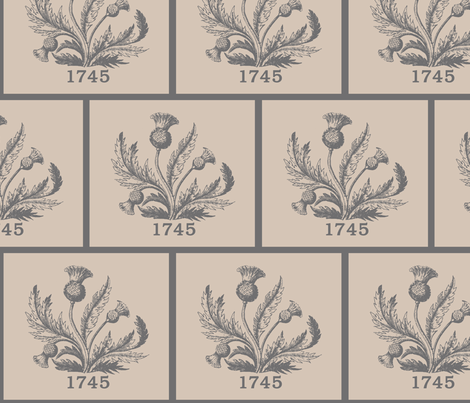 1745 Thistle fabric by rengal on Spoonflower - custom fabric