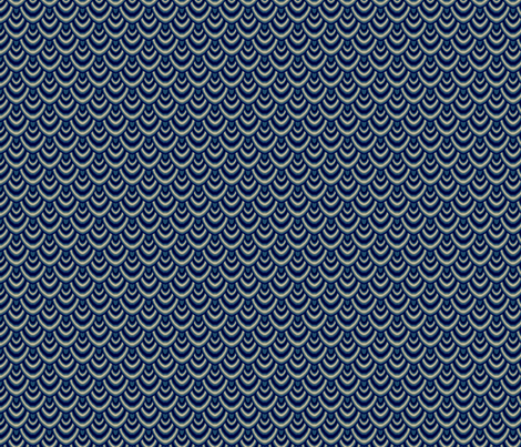 Scales (Winter) fabric by jessedwards on Spoonflower - custom fabric