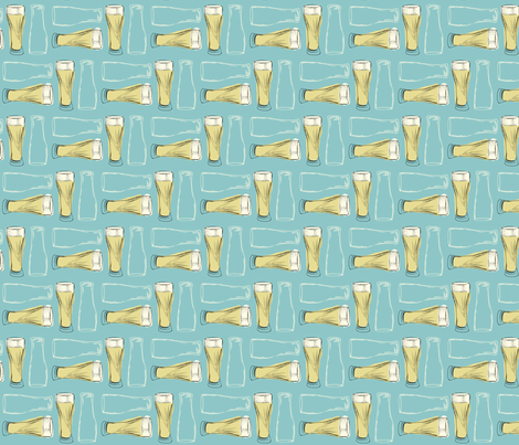 Glass (blue) fabric by phillip_markel on Spoonflower - custom fabric